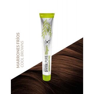 Divina.Pure.Vegan Marrones Fríos Eva Professional Hair Care