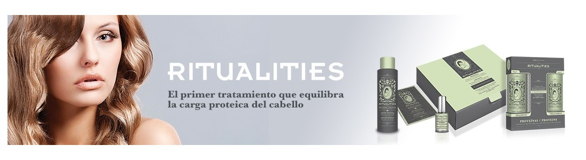 Productos línea Ritualities - Eva Professional Hair Care